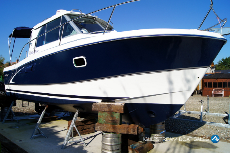 Twin engine transom bracket boats for sale new and used for Used twin outboard motors for sale