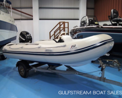 Thumbnail image for Plastimo 3.5m RIB with Mercury 25HP EFI FourStroke Outboard & Trailer – £4,395