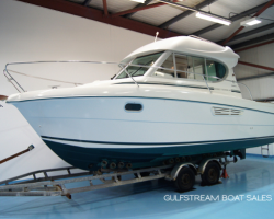 Thumbnail image for 2004 Jeanneau Merry Fisher 805 with Volvo Penta TAMD41 200HP Diesel & Bow Thruster – £34,995 – SALE AGREED