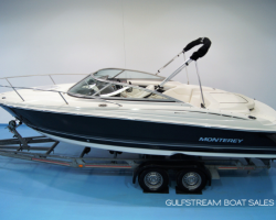 Thumbnail image for Monterey 214 FSC Cuddy w/ Volvo Penta 4.3 GXi 225HP – Less Than 20Hrs Run (Stock Boat with Warranty) – SOLD