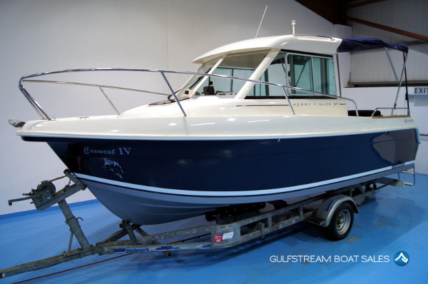 Jeanneau Merry Fisher 625 Legende with Suzuki 115HP Outboard For Sale UK and Ireland - GulfStream Boat Sales
