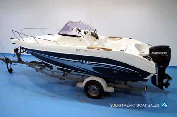 2006 Jets Marivent 560 WA with Evinrude E-TEC 90HP For Sale UK And Ireland - GulfStream Boat Sales