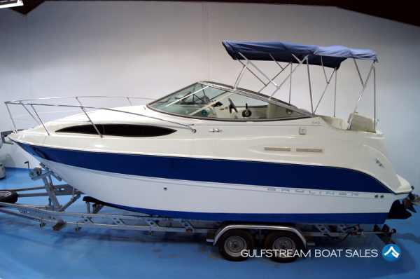 2006 Bayliner 245 with Mercruiser 5.7L TKS with UK Trailer For Sale UK And Ireland - GulfStream Marine Boat Sales