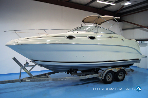2001 Sea Ray 240 Sundancer Sports Cruiser Boat For Sale UK and Ireland - GulfStream Boat Sales