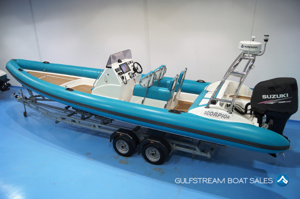 Scorpion 8.5M RIB Boat For Sale UK and Ireland