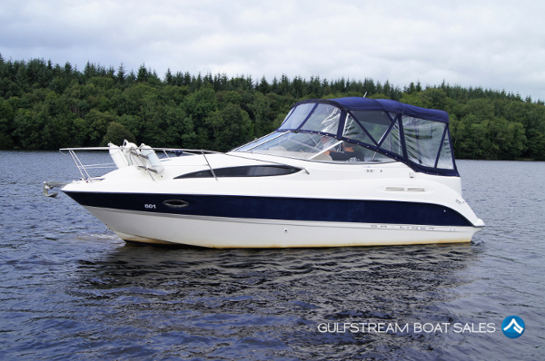Bayliner 265 / 275 Diesel Sports Cruiser Boat with Volvo Penta KAD32 For Sale UK and Ireland - GulfStream Boat Sales