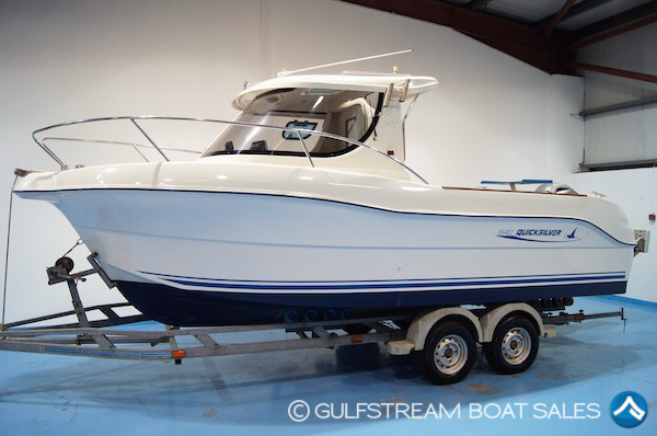 2007 Quicksilver 640 Pilothouse For Sale UK and Ireland at GulfStream Boat Sales