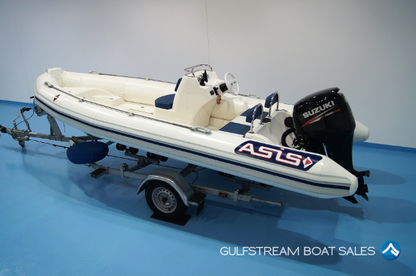 Asis 5.1m RIB with Suzuki 80HP FourStroke For Sale at GulfStream Boat Sales - UK and Ireland
