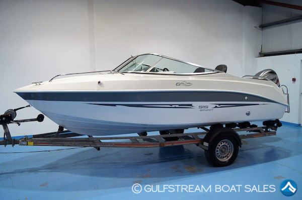 2012 Galeon Galia 515 with Mariner 60HP FourStroke EFI For Sale at GulfStream Boat Sales - UK and Ireland