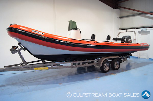 2006 Lencraft 7.8m RIB with Yamaha 150HP TwoStroke For Sale at GulfStream Boat Sales - UK and Ireland