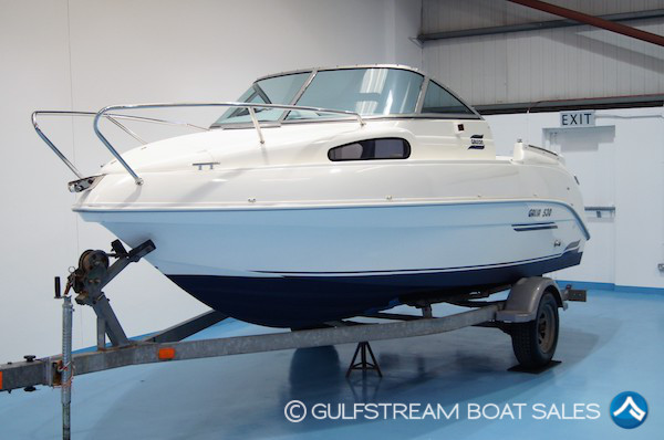 2007 Galeon Galia 530 Sports Cuddy with Mariner EFI FourStroke 60HP For Sale at GulfStream Boat Sales - UK and Ireland