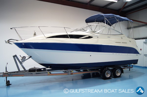 2006 Bayliner 245 with Mercruiser 5.0L 220HP For Sale at GulfStream Boat Sales - UK and Ireland