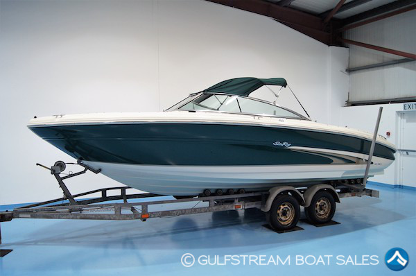 2000 Sea Ray 210 Signature with Mercruiser 5.0L EFI 250HP For Sale at GulfStream Boat Sales - UK and Ireland