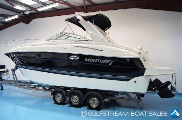 2004 Monterey 265 CR Sports Cruiser with Yanmar 315HP Diesel For Sale at GulfStream Boat Sales - UK and Ireland