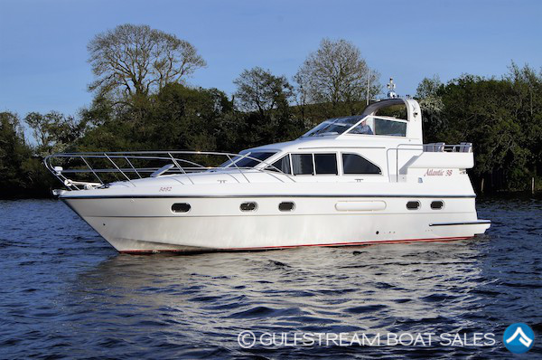 2003 Westwood Atlantic 38 with Yanmar 155HP Turbodiesel For Sale at GulfStream Boat Sales - UK and Ireland