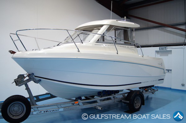 2012 Jeanneau Merry Fisher 595 For Sale with Yamaha 100HP FourStroke For Sale at GulfStream Boat Sales