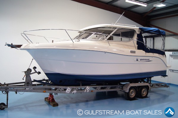 2008 Quicksilver 700 Weekend For Sale with Volkswagen 150HP TDI For Sale at GulfStream Boat Sales