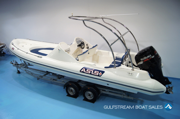 2009 / 2017 Asis 8.0m RIB For Sale at GulfStream Boat Sales