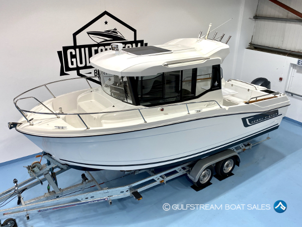 2016 Jeanneau Merry Fisher 695 Marlin with Yamaha 150HP FourStroke For Sale at GulfStream Boat Sales