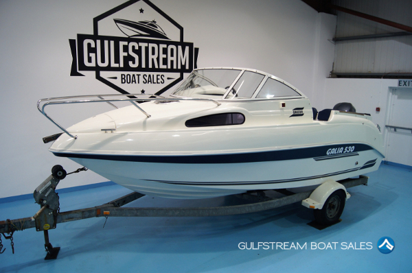 2003 Galeon Galia 530 Sports Cuddy with Yamaha 150HP FourStroke Outboard For Sale at GulfStream Boat Sales - UK and Ireland
