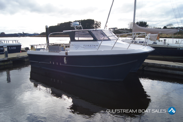 Cheetah Marine Diesel Catamaran 8.5m For Sale UK & Ireland at GulfStream Boat Sales