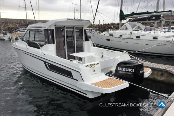 2020 Jeanneau Merry Fisher 795 with Suzuki 200HP FourStroke For Sale at GulfStream Boat Sales