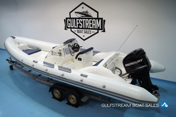 2008 / 2012 Shakespeare 7.5m RIB For Sale at GulfStream Boat Sales